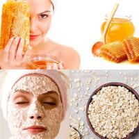 Как сделать овсяно-медовую маску для лица?